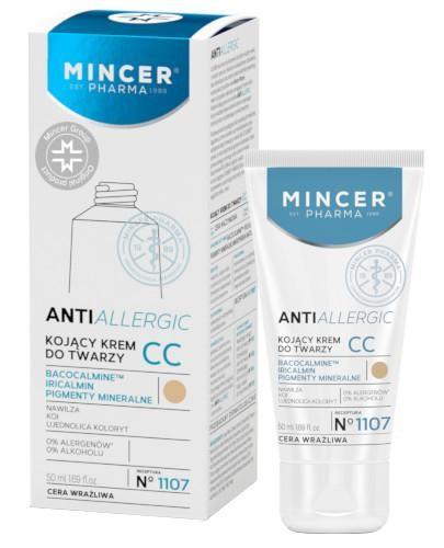 Mincer Pharma Antiallergic N1107 kojący krem do twarzy CC 50 ml