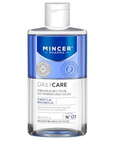 Mincer Pharma Daily Care N01 dwufazowy płyn do demakijażu oczu 150 ml