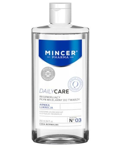 Mincer Pharma Daily Care N03 regenerujący płyn micelarny do twarzy 250 ml