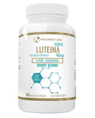 Progress Labs Luteina Forte 40 mg 60 kapsułek miękkich