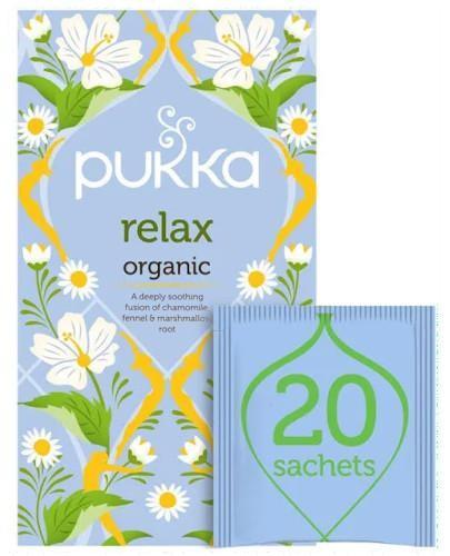 Pukka Relax herbata ziołowa 20 torebek