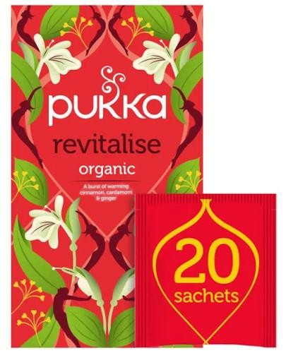 Pukka Revitalise herbata 20 saszetek