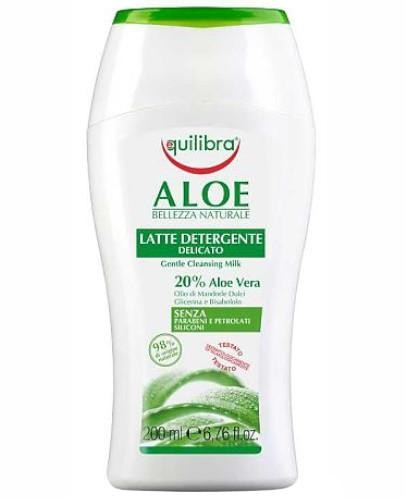 Equilibra aloesowe łagodne mleczko do demakijażu 200 ml