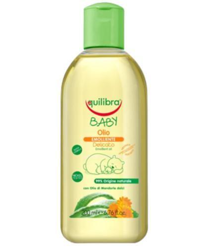Equilibra Baby naturalna oliwka pielęgnacyjna dla dzieci 200 ml  [Maska Arganowa + Zesta...