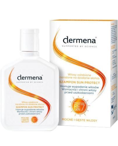 Dermena Sun Protect ochronny szampon do włosów 200 ml