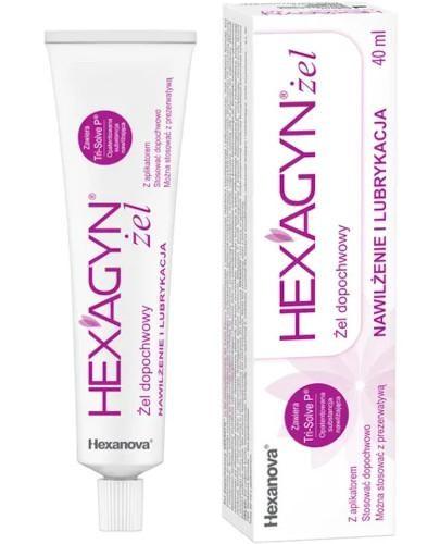 Hexagyn żel dopochwowy 40 ml