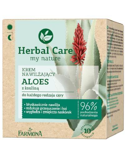 Farmona Herbal Care Aloes z inuliną krem nawilżający 50 ml