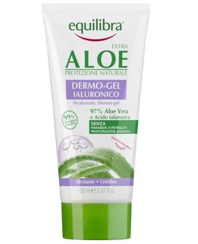 Equilibra Extra aloesowy dermo żel z kwasem hialuronowym 150 ml  [Maska Arganowa + Zesta...