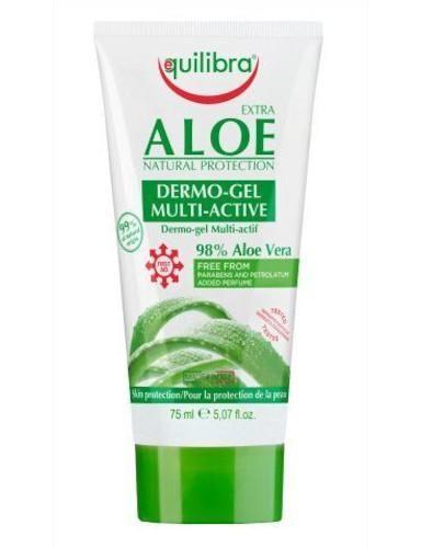 Equilibra Extra aloesowy dermo żel Multi-Active 75 ml  [Maska Arganowa + Zestaw Próbek]