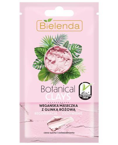 Bielenda Botanical Clays wegańska maseczka z glinką różową 8 g
