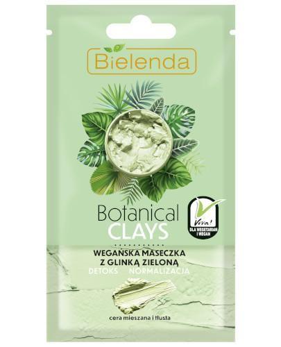Bielenda Botanical Clays wegańska maseczka z glinką zieloną 8 g