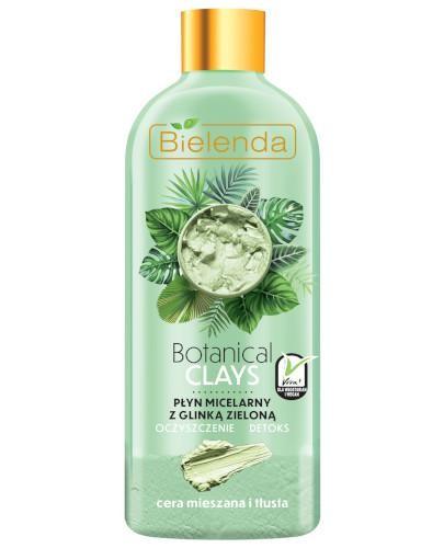 Bielenda Botanical Clays wegański płyn micelarny z glinką zieloną 500 ml