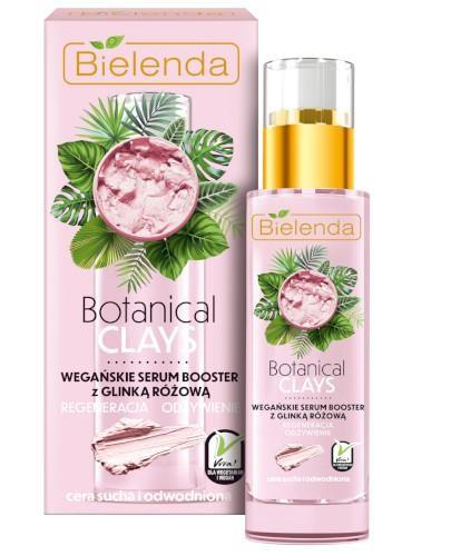 Bielenda Botanical Clays wegańskie serum booster z glinką różową 30 ml