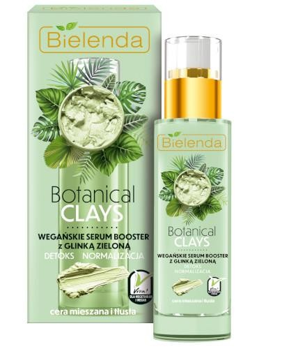 Bielenda Botanical Clays wegańskie serum booster z glinką zieloną 30 ml