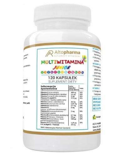 Altopharma Multiwitamina Junior 120 tabletek do ssania
