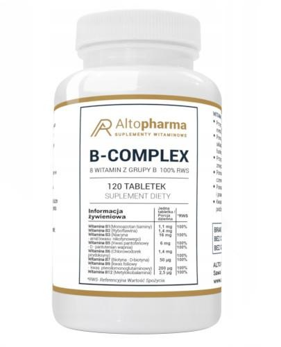 Altopharma Witamina B Complex 120 tabletek