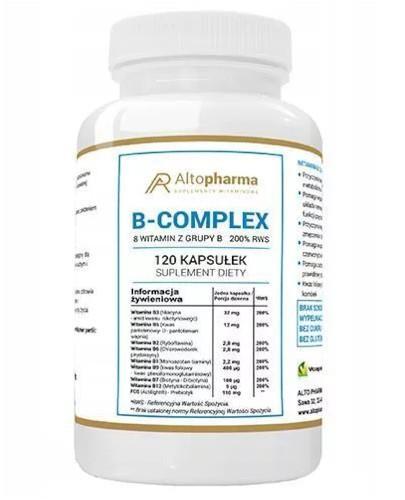 Altopharma Witamina B Complex 200% RWS 120 kapsułek