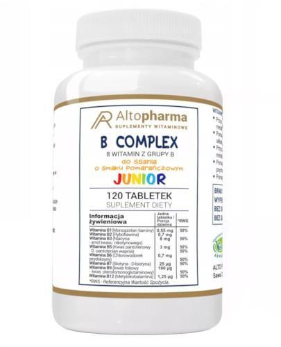 Altopharma Witamina B Complex Junior 120 tabletek do ssania