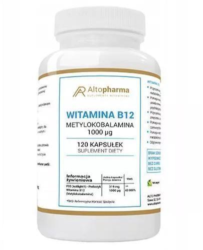 Altopharma Witamina B12 1000 µg 120 kapsułek