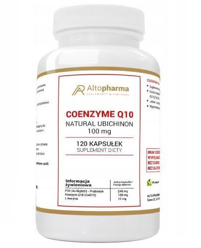 Altopharma Coenzyme Q10 100 mg (koenzym Q10) + L-leucyna + Prebiotyk 120 kapsułek
