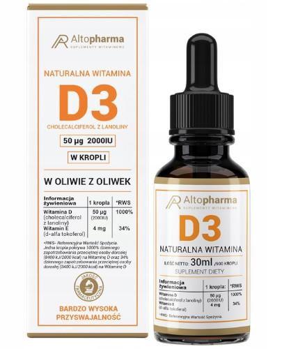 Altopharma Witamina D3 2000 IU w kroplach 30 ml