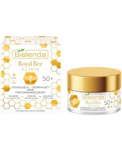 Bielenda Royal Bee Elixir liftingująco-ujędrniający krem przeciwzmarszczkowy 50+ 50 ml