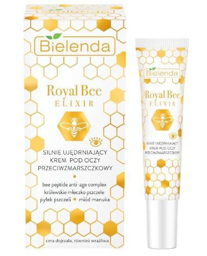 Bielenda Royal Bee Elixir silnie ujędrniający krem pod oczy przeciwzmarszczkowy 15 ml