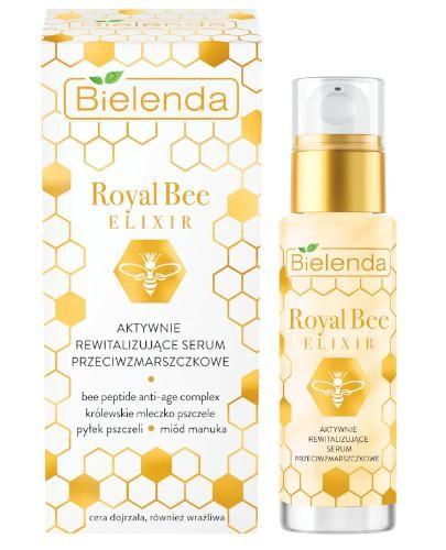 Bielenda Royal Bee Elixir aktywnie rewitalizujące serum przeciwzmarszczkowe 30 ml