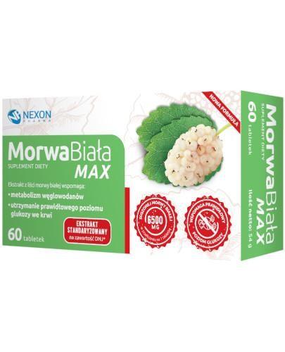 MorwaBiała MAX 60 tabletek