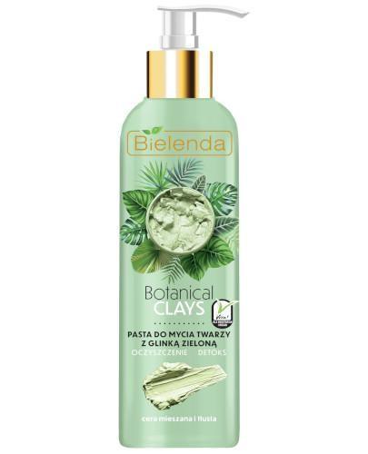 Bielenda Botanical Clays wegańska pasta do mycia twarzy z glinką zieloną 190 g