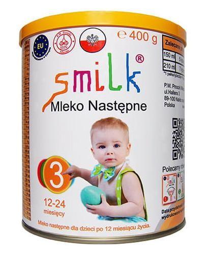 Smilk 3 mleko następne dla dzieci 12-24 miesięcy 400 g