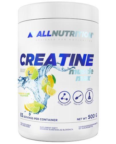 Allnutrition Creatine Muscle max smak cytryna-limetka 500 g