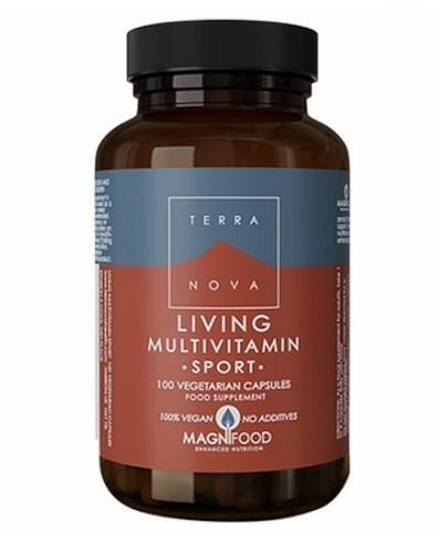 Terranova Living Multivitamin Sport 50 kapsułek roślinnych