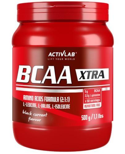 ActivLab BCAA Xtra Instant smak czarna porzeczka 500 g