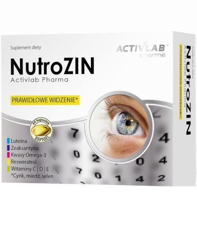 ActivLab NutroZIN 60 kapsułek miękkich