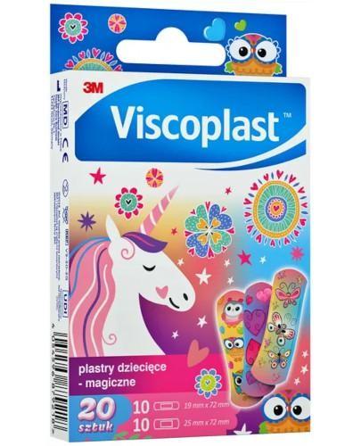 Viscoplast plastry dziecięce magiczne 20 sztuk