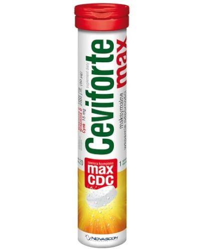 Ceviforte Max 20 tabletek musujących