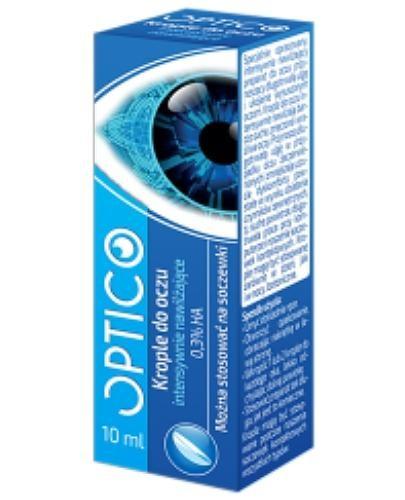 Optico krople do oczu intensywnie nawilżające 10 ml