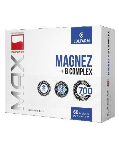 Colfarm Max Magnez + B Complex 60 tabletek