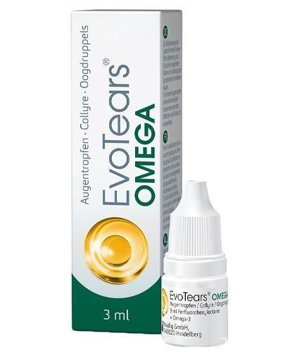 EvoTears Omega krople do oczu 3 ml