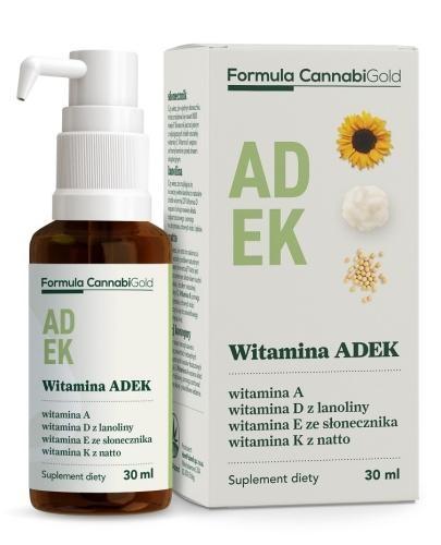 Formula CannabiGold Witamina ADEK 30 ml