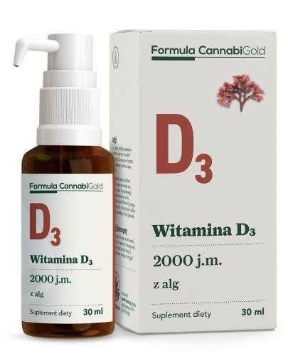 Formula CannabiGold Witamina D3 z alg 30 ml
