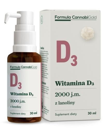 Formula CannabiGold Witamina D3 z lanoliny 30 ml
