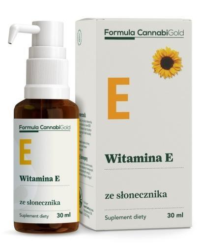 Formula CannabiGold Witamina E ze słonecznika 30 ml
