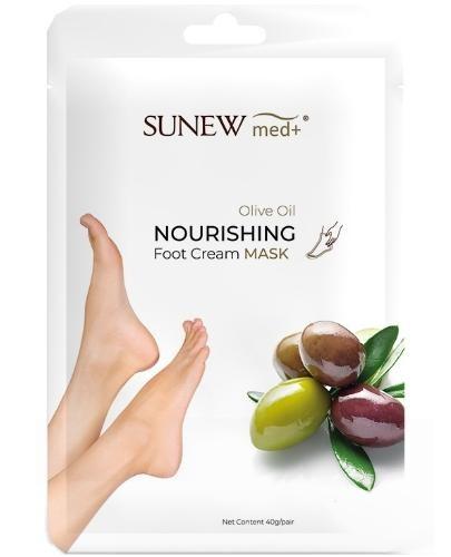 SunewMed+ maska do stóp olej jojoba i wyciągiem z oliwy 2 sztuki