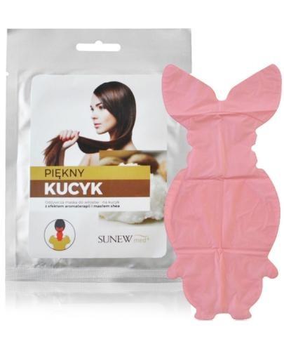SunewMed+ Piękny Kucyk maska do włosów z efektem aromaterapii i masłem shea 1 sztuka
