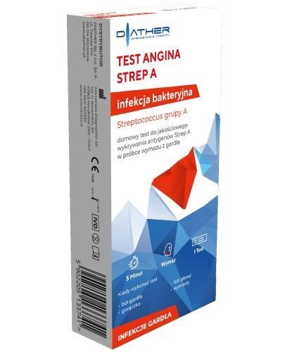 Diather Test Angina Strep A 1 sztuka
