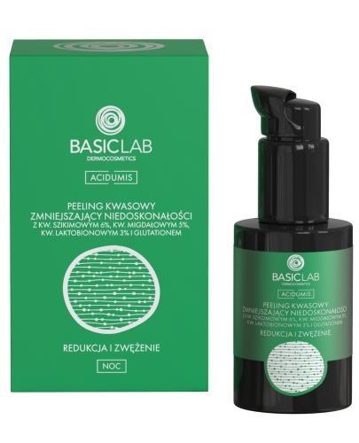 Basiclab Dermocosmetics Acidumis peeling kwasowy zmniejszający niedoskonałości redukcj...