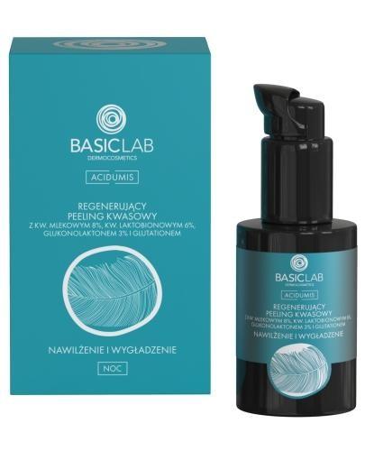Basiclab Dermocosmetics Acidumis regenerujący peeling kwasowy nawilżenie i wygładzenie ...