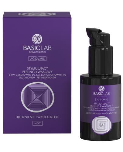 Basiclab Dermocosmetics Acidumis stymulujący peeling kwasowy ujędrnienie i wygładzenie ...